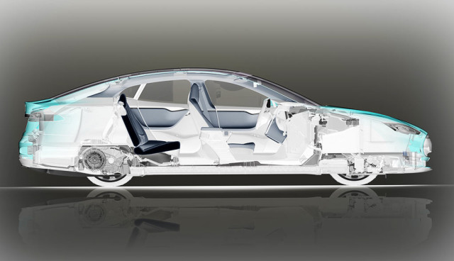 Tesla Elektroauto Batteriewechsel-Sationen