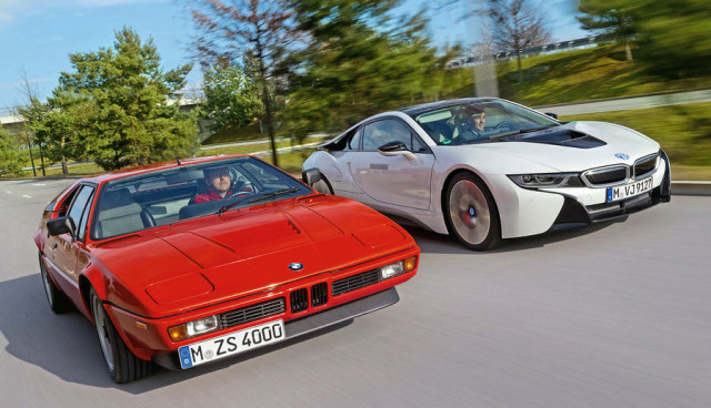 BMW-i8-gegen-BMW-M1