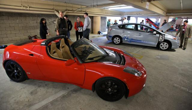 Elektroautos-gebraucht