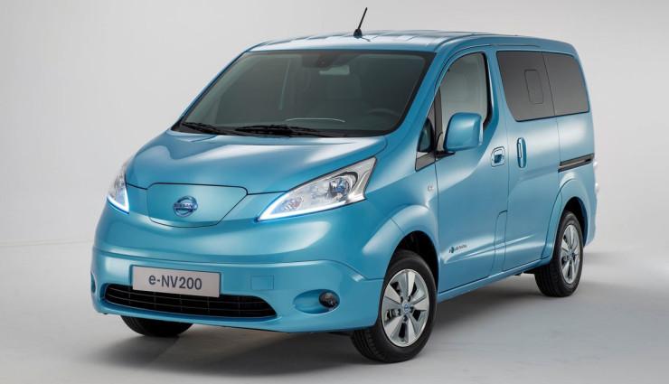 Nissan-Elektro-MiniVan-Evalia-e-NV200-Front