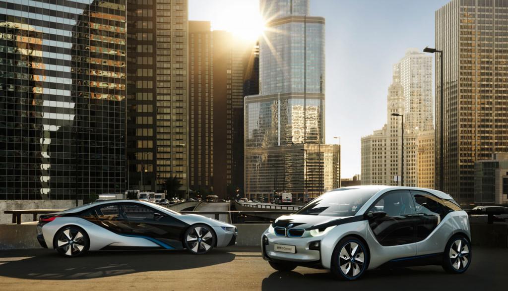 BMW-i-Elektroautos