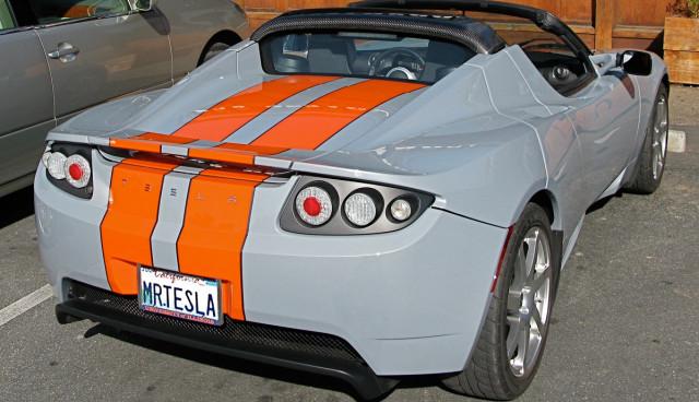 Elektroauto-Autokennzeichen