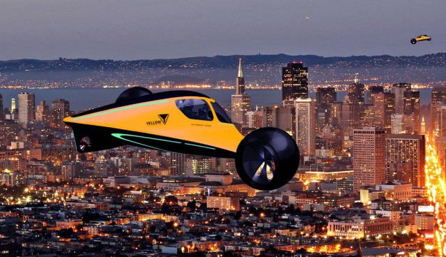 Fliegendes Auto skylys-indiegogo