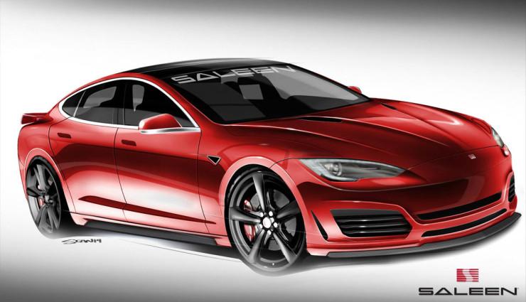 Tesla-Saleen-Model-S Front