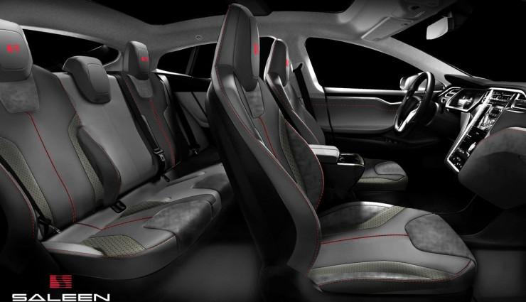 Tesla-Saleen-Model S Innen