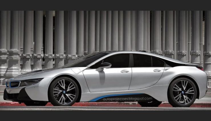 Bmw I8 Gran Coupe Plug In Hybridsportler I8 Als Limousine