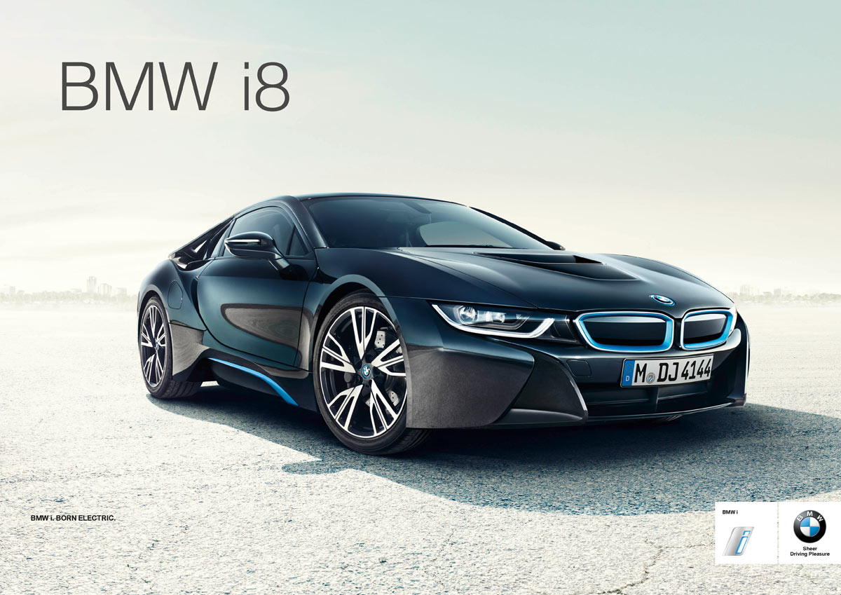 bmw i8 launchkampagne f r den plug in hybriden gestartet. Black Bedroom Furniture Sets. Home Design Ideas