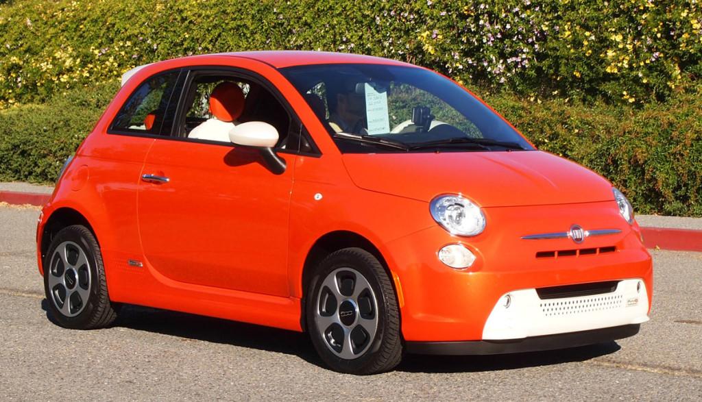 Elektroauto-Fiat-500e