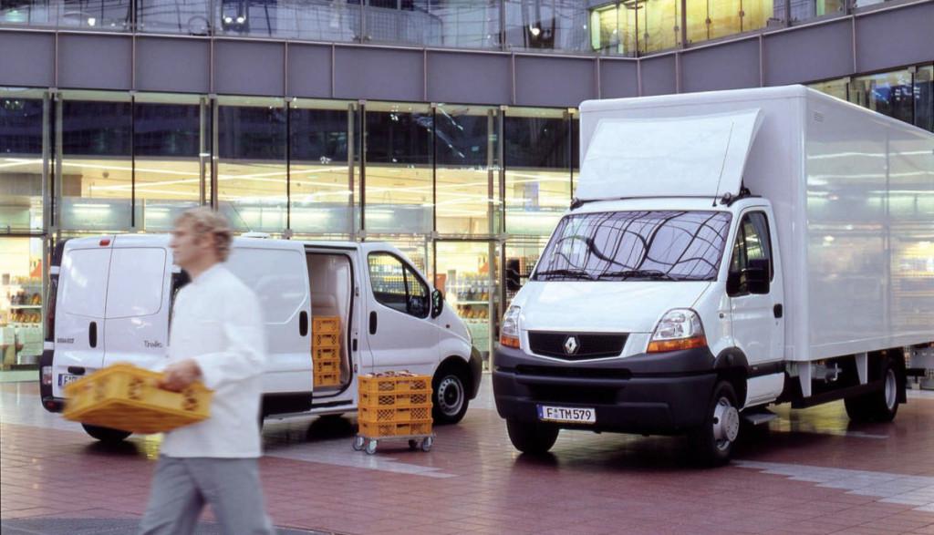 Elektroauto-Lieferwagen