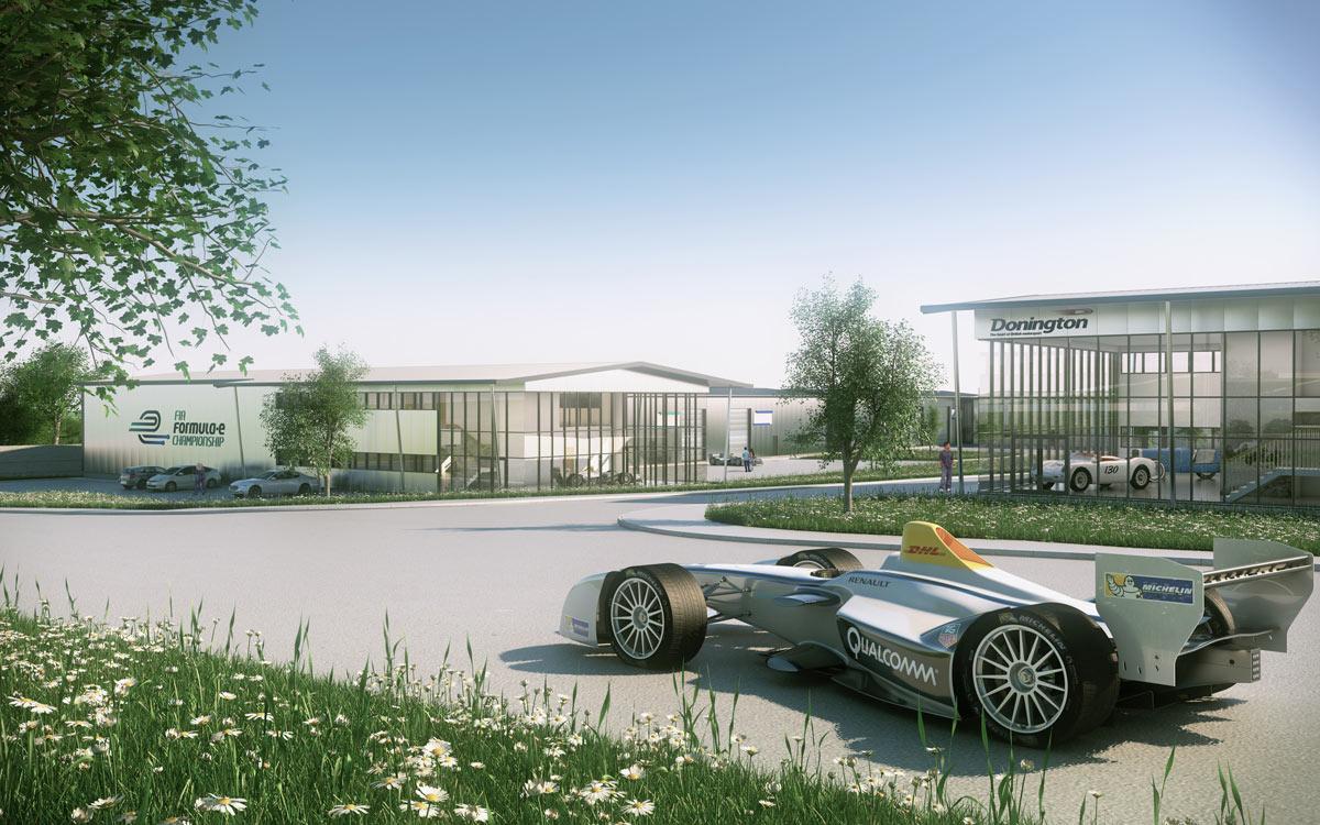 Formel-E-Donnigton-Park