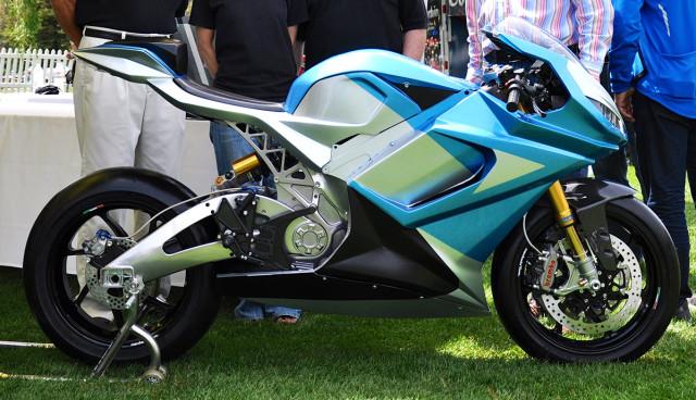 schnellstes Elektromotorrad der Welt LS-218 Lightning