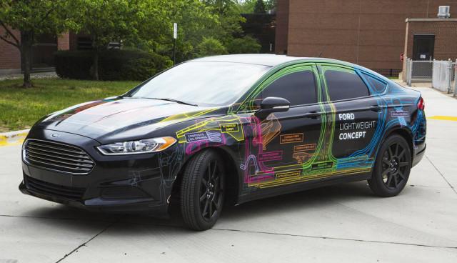 Elektroauto Ford Leichtbau