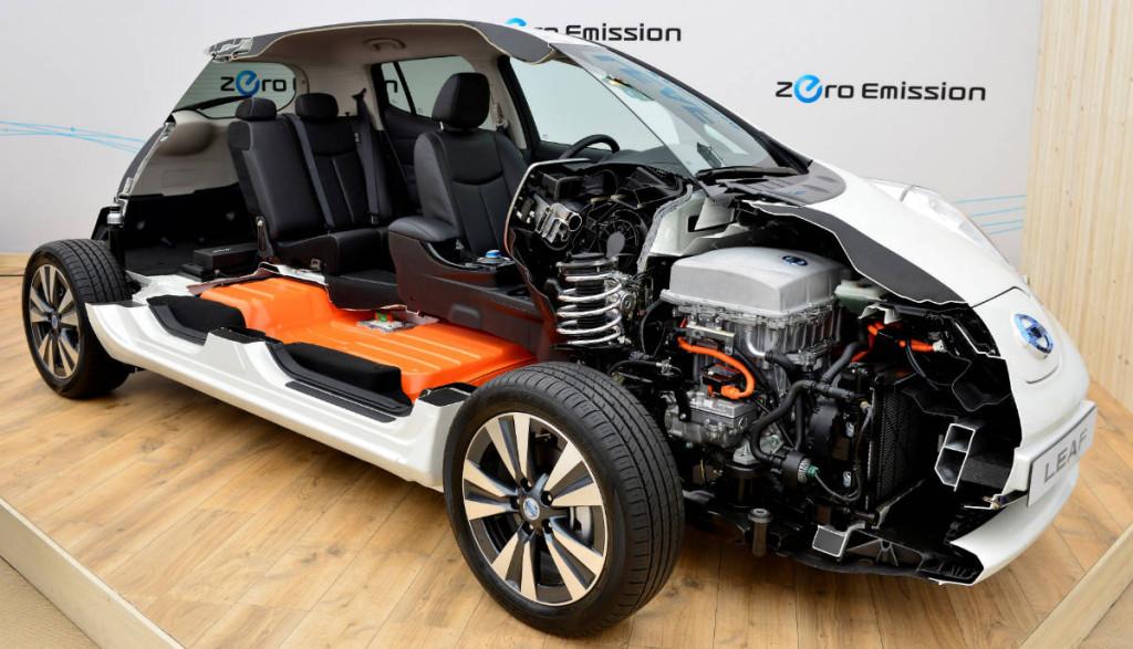 Nissan LEAF Elektroauto Ersatzbatterie austausch-Kosten