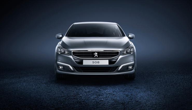Peugeot-508–Front
