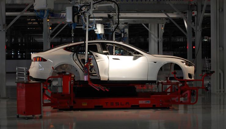 Tesla-Model-S-Gewicht-Technik