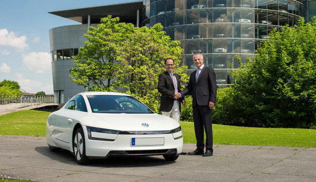 VW-XL1-Auslieferung