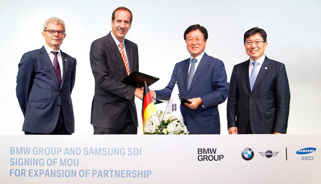 BMW-Samsung-Elektroauto