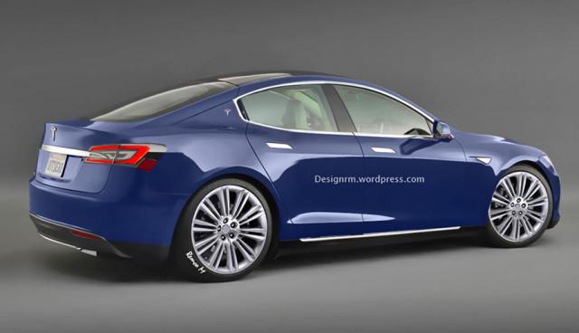 Elektroauto-Tesla-Model-3-ehemals Model-E
