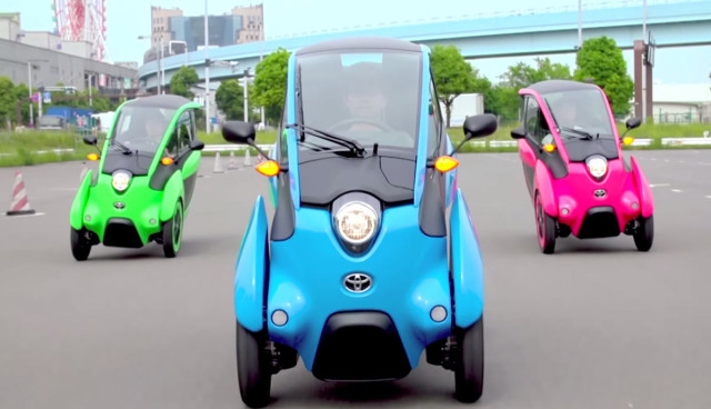 Toyota-i-Road-Video-Elektroroller