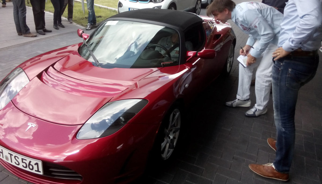 Elektroauto-Reichweitentest