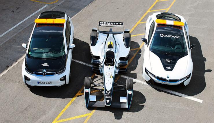 BMW i3 & i8: Kabellose Ladetechnik für Einsatz in der Formel E