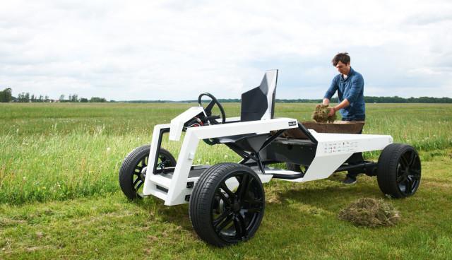 Kulan-Elektroauto-Landfahrzeug