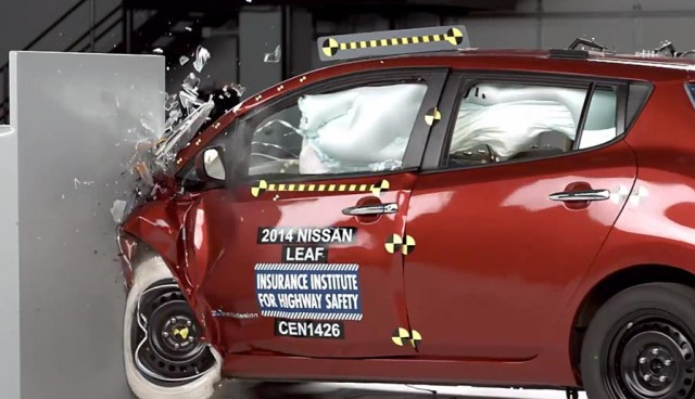 Nissan LEAF Crashtest Sicherheit
