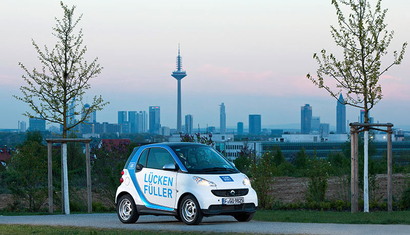 car2go carsharing startet in frankfurt am main. Black Bedroom Furniture Sets. Home Design Ideas