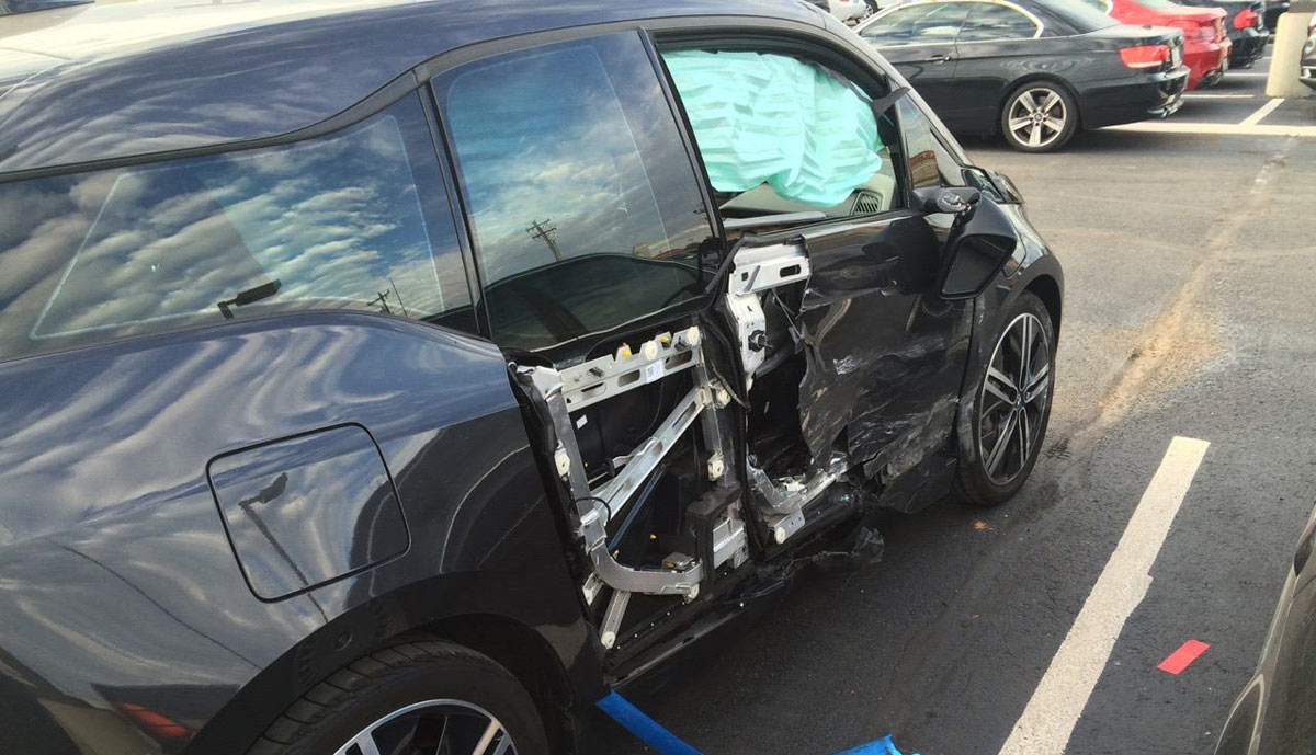 Bmw testfahrer unfall