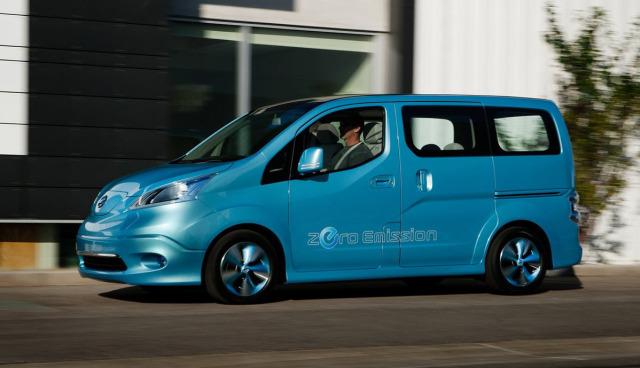 Nissan-e-NV200-Elektroauto-Transporter-Minivan-Test