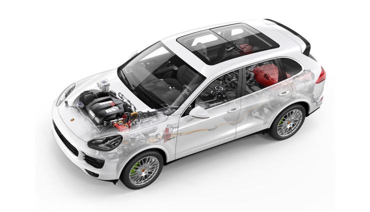 Porsche-S-E-Hybrid-Plug-in-Hybrid-Technik