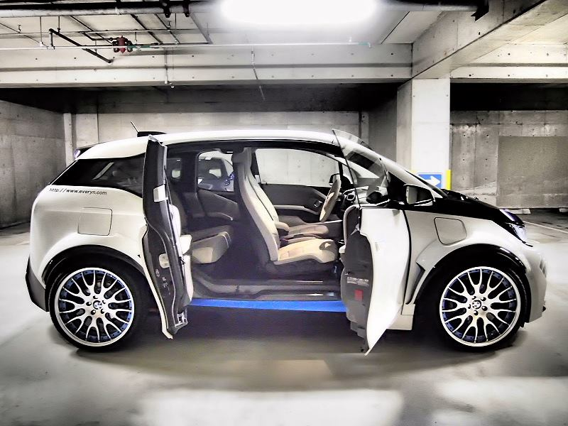 elektroauto zum f rchten bmw i3 von everyn garage. Black Bedroom Furniture Sets. Home Design Ideas