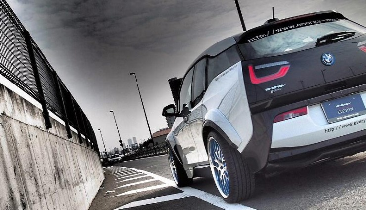 bmw i3 extrem tuning version evo von eve ryn. Black Bedroom Furniture Sets. Home Design Ideas