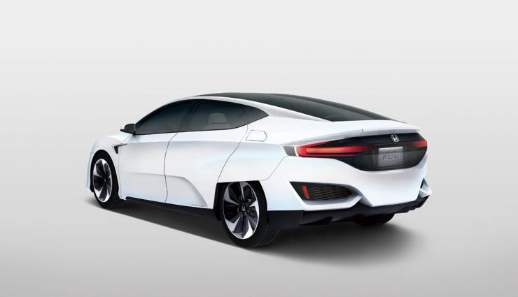 Honda-FCV-Wasserstoff-Brensstoffzelle-Auto