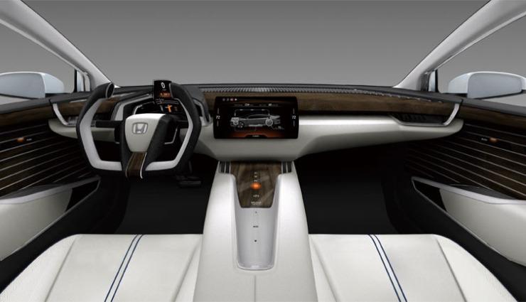 Honda-FCV-Wasserstoff-Brensstoffzelle-Auto-Cockpit
