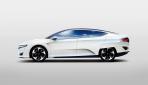 Honda-FCV-Wasserstoff-Brensstoffzelle-Auto-Seite
