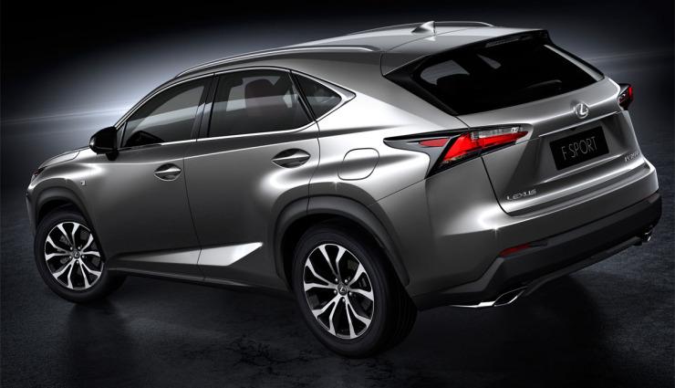 Lexus-NX-Hybridauto-SUV-Seite