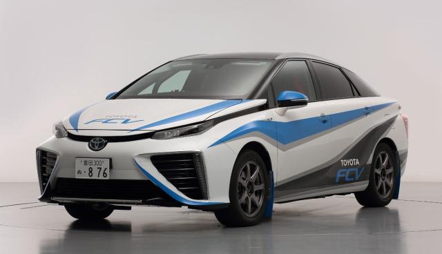 Toyota-FCV-Brennstoffzellenauto-Rallye