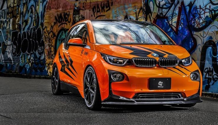 Getunter BMW i3 röhrt wie ein Ferrari (oder eine Corvette ...