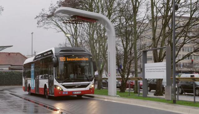 Hamburg-Elektrobus-Innovationslinie