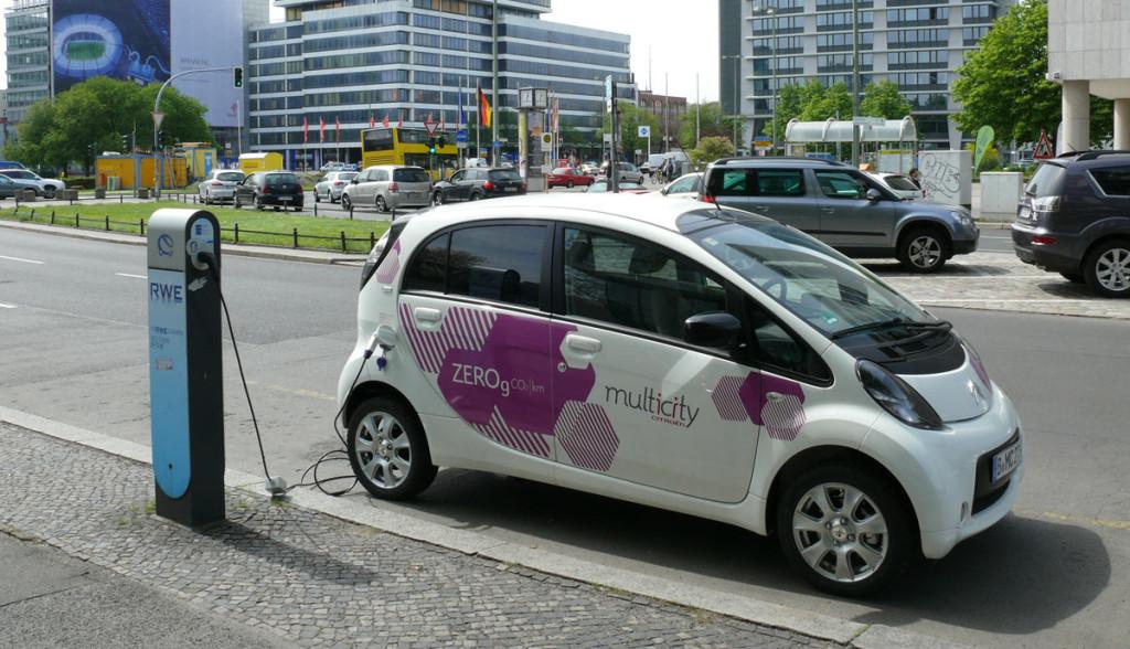 Elektroauto-Berlin-Ladestationen