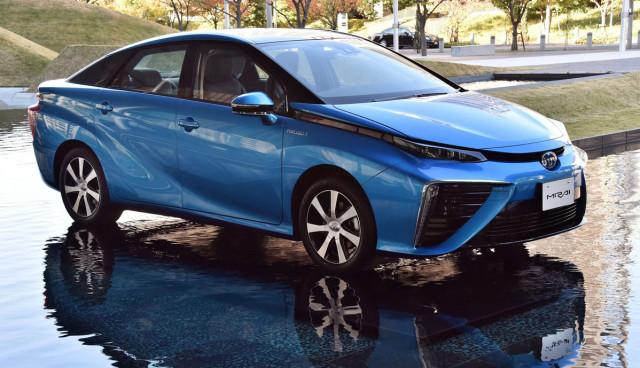 Tyoota-Wasserstoffauto-Patente