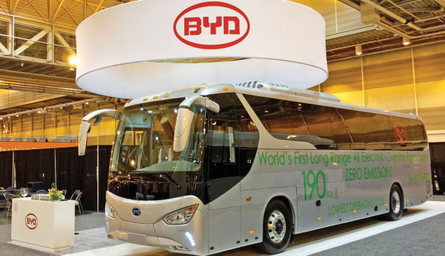BYD-C9–Elektrobus