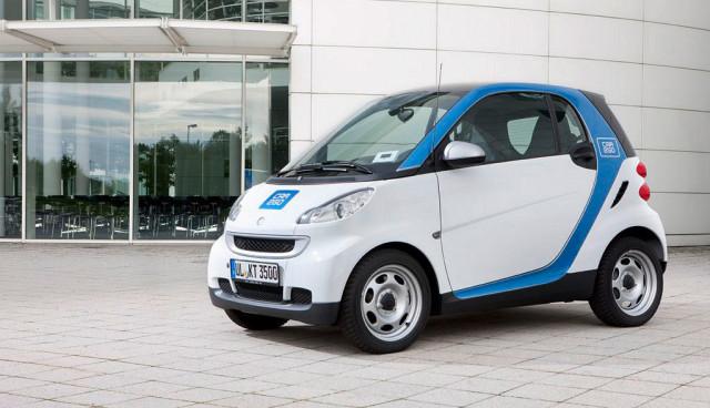 Elektroauto-Carsharing