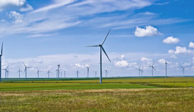 Elektroauto-Windstrom