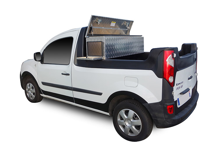 elektroauto transporter renault kangoo als pick up. Black Bedroom Furniture Sets. Home Design Ideas