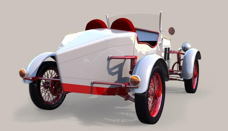 LORYC_Speedster_Elektroauto_heck2