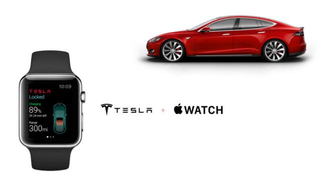 Tesla-Apple-Watch-App