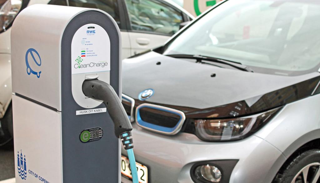 Hubject-Elektroauto-Ladestation