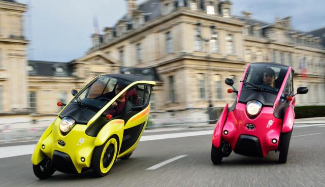 Toyota-i-Road-Elektroroller